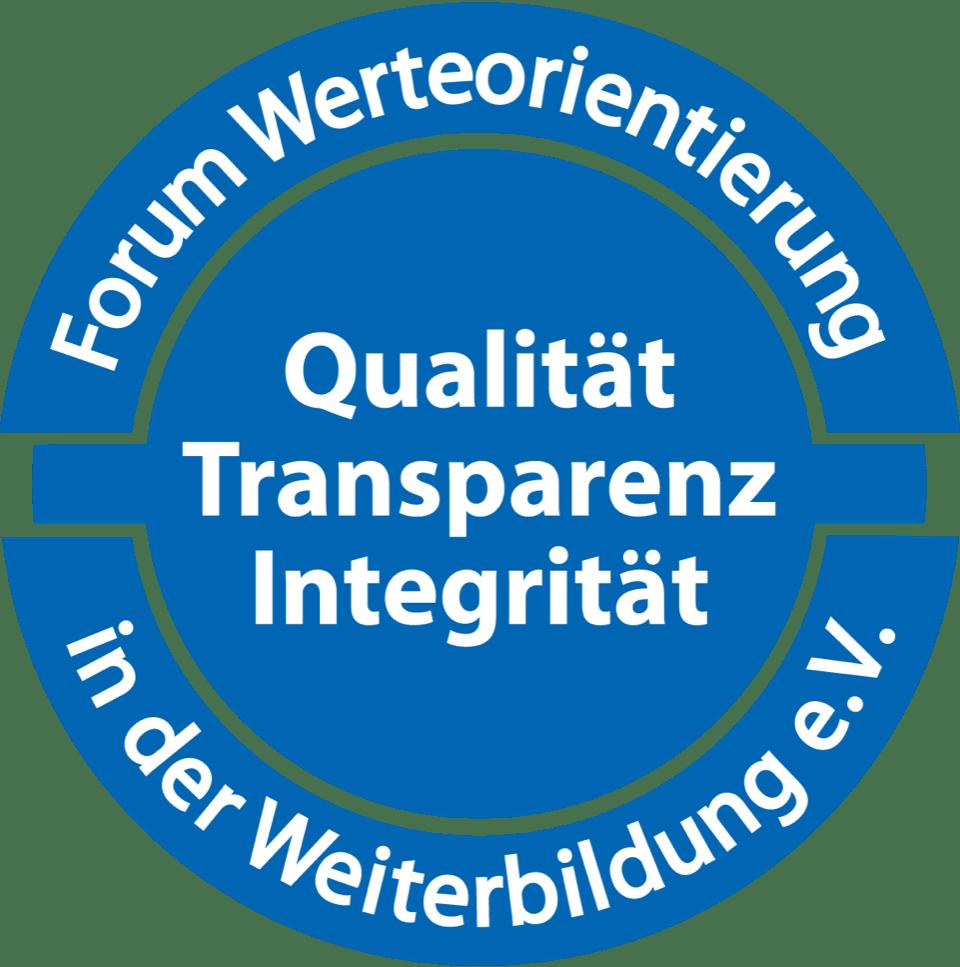 Qualität, Transparenz, Integrität